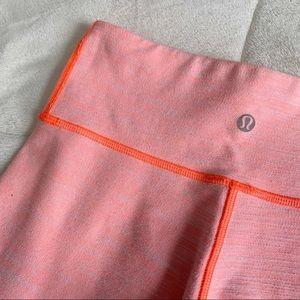 Lululemon Peachy Pink Wunder Unders